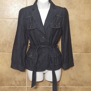 Ann Taylor LOFT Denim Jacket size Small